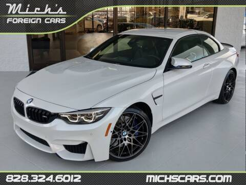 2019 BMW M4 for sale at Mich's Foreign Cars in Hickory NC