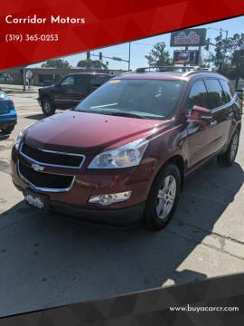 2011 Chevrolet Traverse for sale at Corridor Motors in Cedar Rapids IA