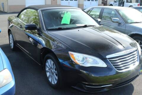 2013 Chrysler 200 Convertible for sale at FENTON AUTO SALES in Westfield MA