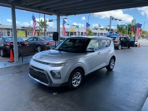 2020 Kia Soul for sale at American Auto Sales in Hialeah FL
