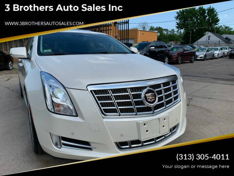 2013 Cadillac XTS for sale at 3 Brothers Auto Sales Inc in Detroit MI