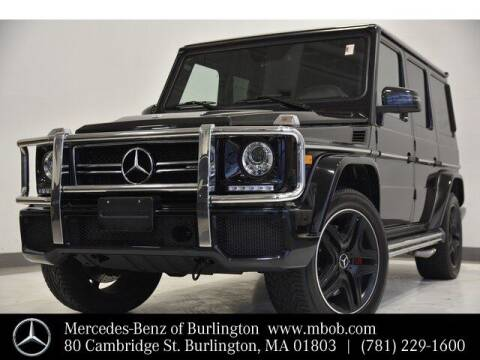 2018 Mercedes-Benz G-Class for sale at Mercedes Benz of Burlington in Burlington MA