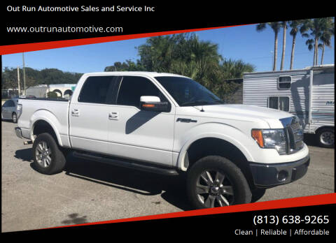 2010 Ford F-150 for sale at Out Run Automotive Sales and Service Inc in Tampa FL