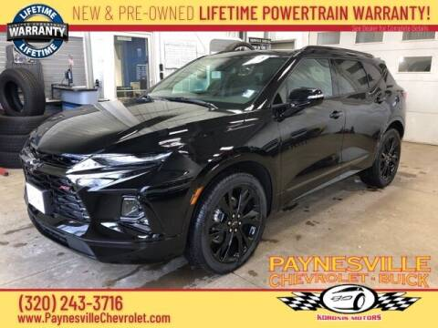 2021 Chevrolet Blazer for sale at Paynesville Chevrolet - Buick in Paynesville MN