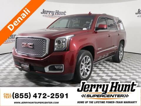 2016 GMC Yukon for sale at Jerry Hunt Supercenter in Lexington NC