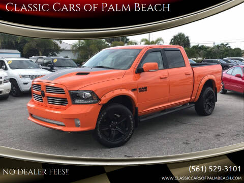 2017 RAM Ram Pickup 1500 for sale at Classic Cars of Palm Beach in Jupiter FL