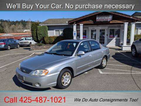 2003 Kia Spectra for sale at Platinum Autos in Woodinville WA