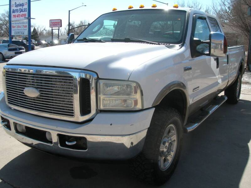 2006 Ford F-250 Super Duty for sale at Springs Auto Sales in Colorado Springs CO