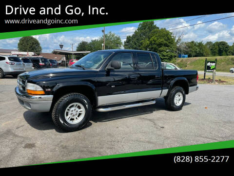 2000 Dodge Dakota for sale at Drive and Go, Inc. in Hickory NC