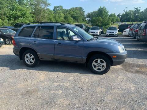 2003 Hyundai Santa Fe for sale at GET N GO USED AUTO & REPAIR LLC in Martinsburg WV