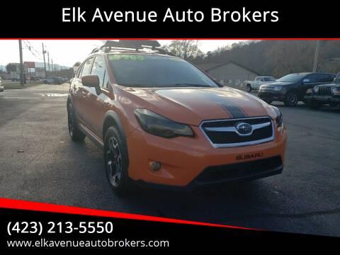 2015 Subaru XV Crosstrek for sale at Elk Avenue Auto Brokers in Elizabethton TN