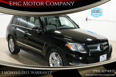 2014 Mercedes-Benz GLK for sale at Epic Motor Company in Chantilly VA