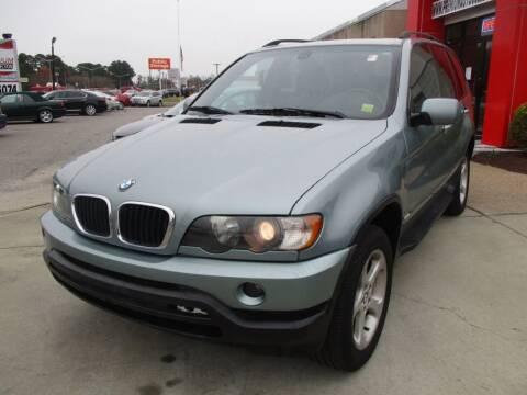 2002 BMW X5 for sale at Premium Auto Collection in Chesapeake VA