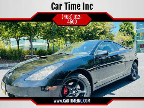2000 Toyota Celica for sale at Car Time Inc in San Jose CA