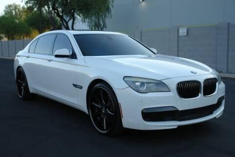 2012 BMW 7 Series for sale at Arizona Classic Car Sales in Phoenix AZ