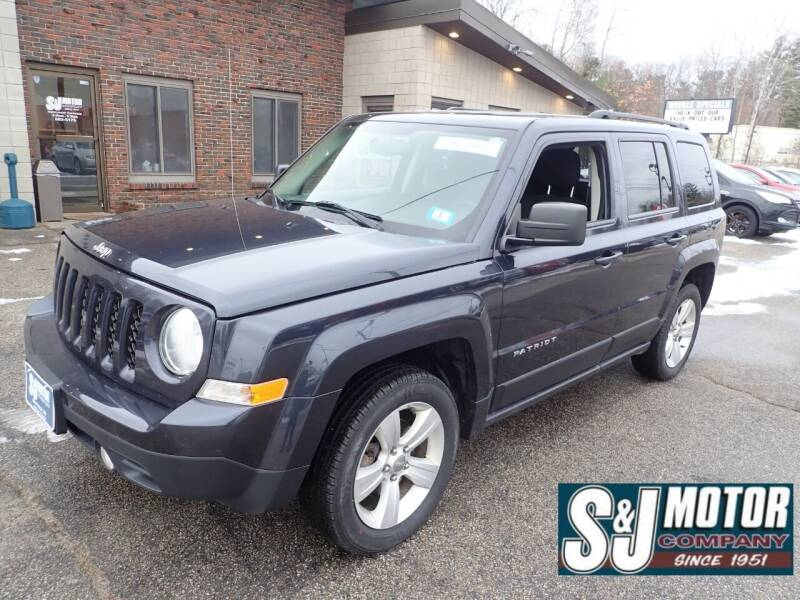 2015 Jeep Patriot for sale at S & J Motor Co Inc. in Merrimack NH