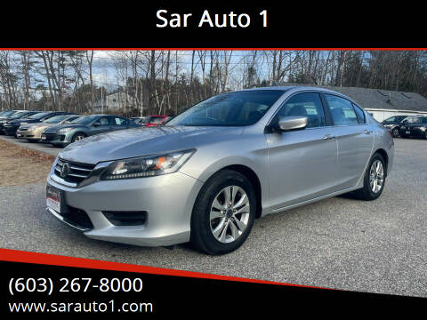 2013 Honda Accord for sale at Sar Auto 1 in Belmont NH