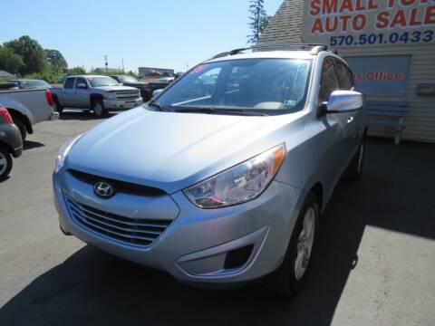 2011 Hyundai Tucson for sale at Small Town Auto Sales in Hazleton PA
