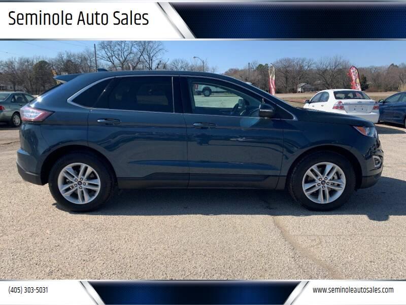 2016 Ford Edge for sale at Seminole Auto Sales in Seminole OK