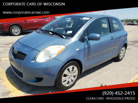 2007 Toyota Yaris for sale at CORPORATE CARS OF WISCONSIN - DAVES AUTO SALES OF SHEBOYGAN in Sheboygan WI