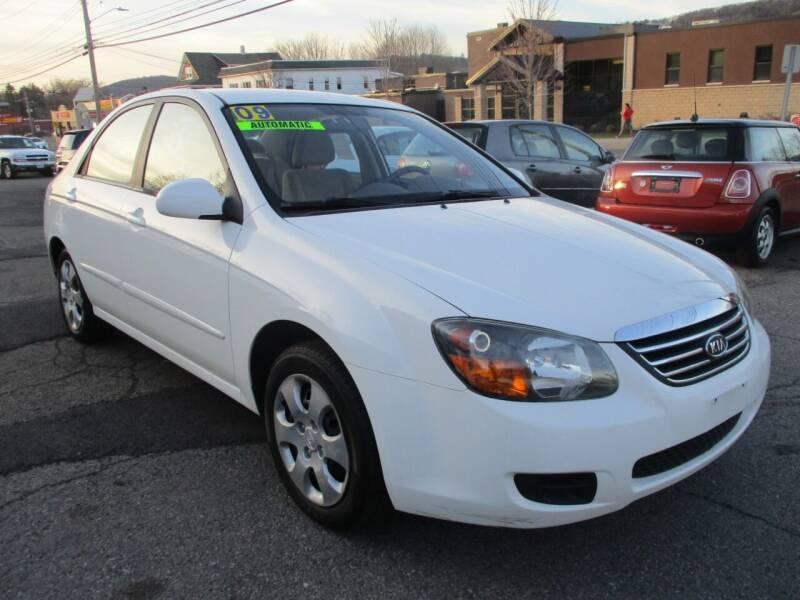 2009 Kia Spectra for sale at Car Depot Auto Sales in Binghamton NY