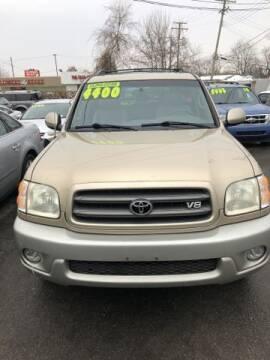 2003 Toyota Sequoia for sale at Mastro Motors in Garden City MI