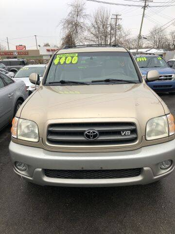 2003 Toyota Sequoia for sale at Mastro Motors in Garden City MI