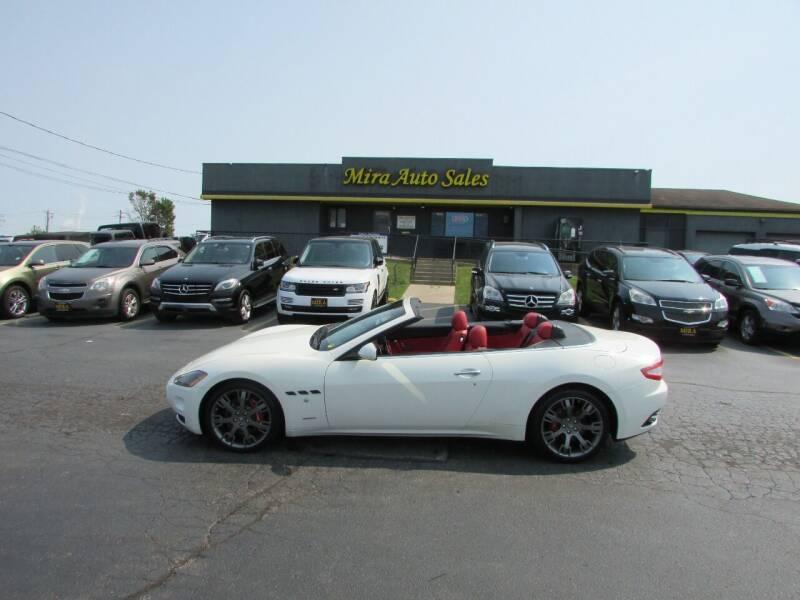2011 Maserati GranTurismo for sale at MIRA AUTO SALES in Cincinnati OH