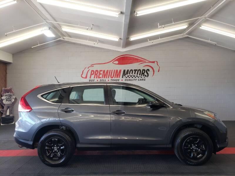 2013 Honda CR-V for sale at Premium Motors in Villa Park IL