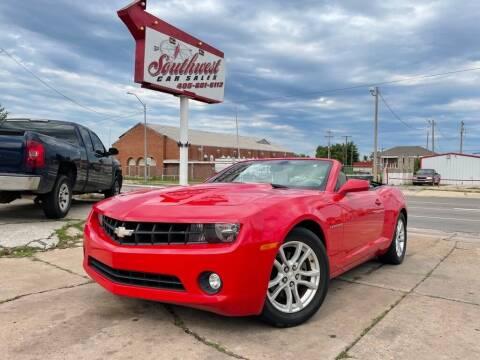 2013 Chevrolet Camaro for sale at Southwest Car Sales in Oklahoma City OK