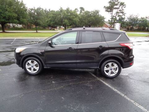 2014 Ford Escape for sale at BALKCUM AUTO INC in Wilmington NC