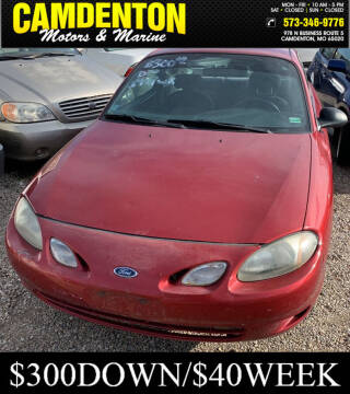 2001 Ford Escort for sale at Camdenton Motors & Marine in Camdenton MO