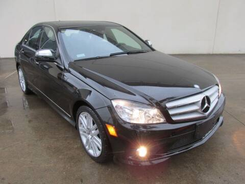 2008 Mercedes-Benz C-Class for sale at QUALITY MOTORCARS in Richmond TX