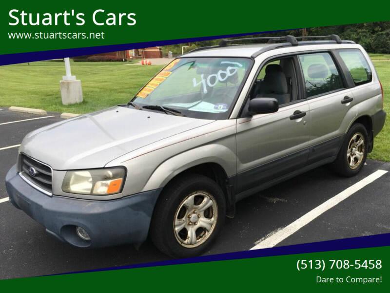 2005 Subaru Forester for sale at Stuart's Cars in Cincinnati OH