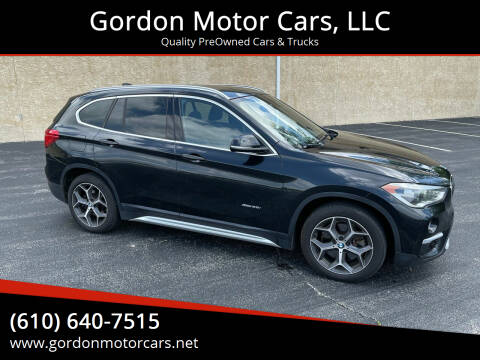 2016 BMW X1 for sale at Gordon Motor Cars, LLC in Frazer PA