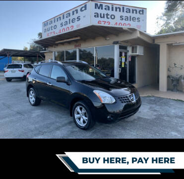 2010 Nissan Rogue for sale at Mainland Auto Sales Inc in Daytona Beach FL