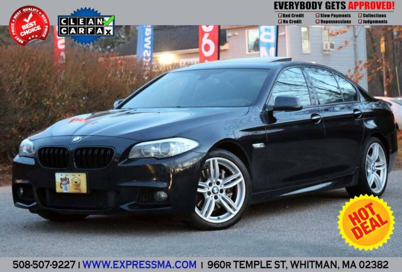 2013 BMW 5 Series for sale at Auto Sales Express in Whitman MA