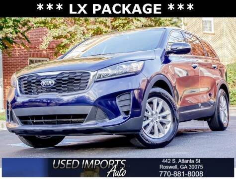 2020 Kia Sorento for sale at Used Imports Auto in Roswell GA