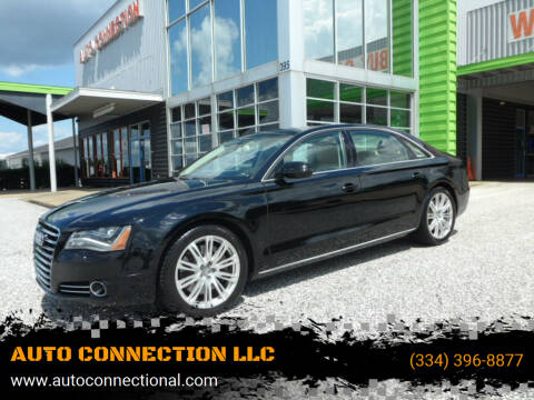 2014 Audi A8 L for sale at AUTO CONNECTION LLC in Montgomery AL
