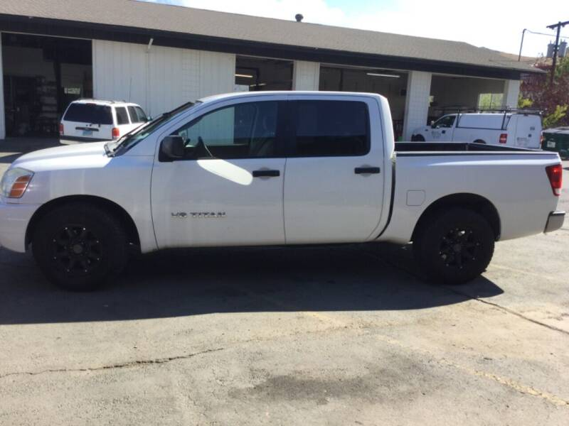 2007 Nissan Titan for sale at Small Car Motors in Carson City NV