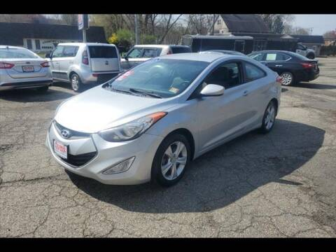 2013 Hyundai Elantra Coupe for sale at Colonial Motors in Mine Hill NJ