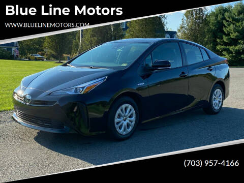 2021 Toyota Prius for sale at Blue Line Motors in Winchester VA