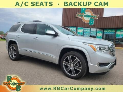 2018 GMC Acadia for sale at R & B Car Co in Warsaw IN