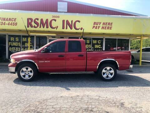 2005 Dodge Ram Pickup 1500 for sale at Ron Self Motor Company in Fort Worth TX