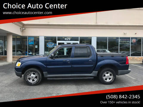 2004 Ford Explorer Sport Trac for sale at Choice Auto Center in Shrewsbury MA