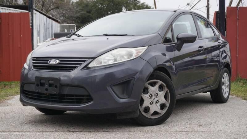 2013 Ford Fiesta for sale at Hidalgo Motors Co in Houston TX