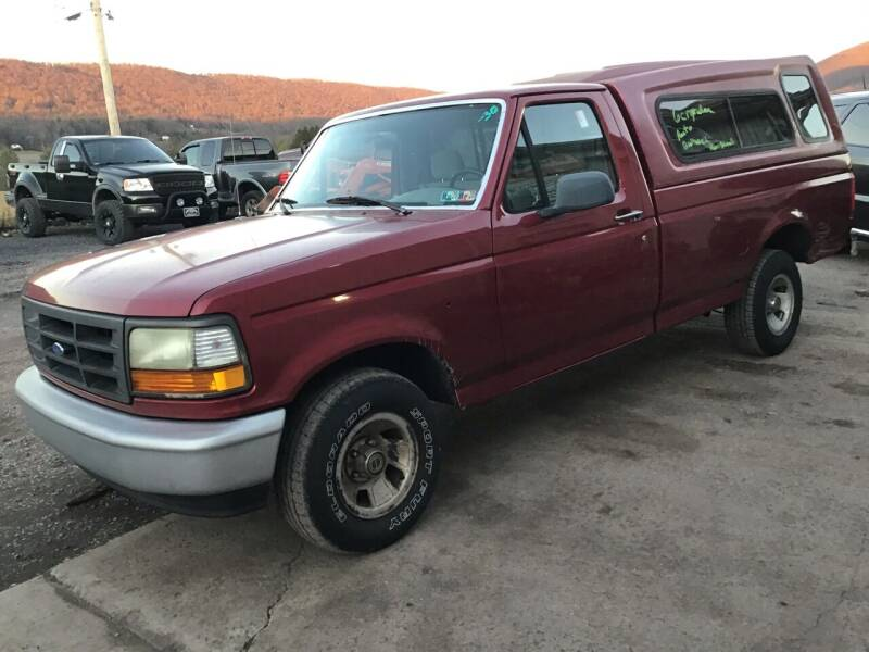 1995 Ford F-150 for sale at Troys Auto Sales in Dornsife PA