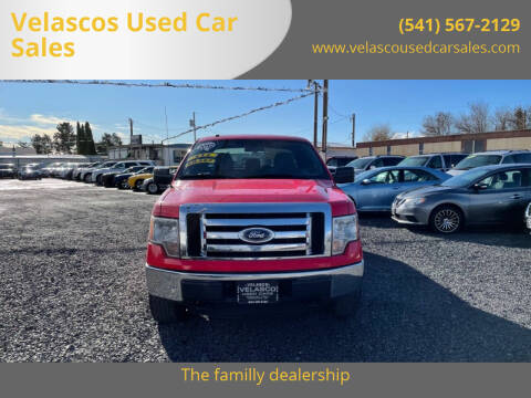 2012 Ford F-150 for sale at Velascos Used Car Sales in Hermiston OR