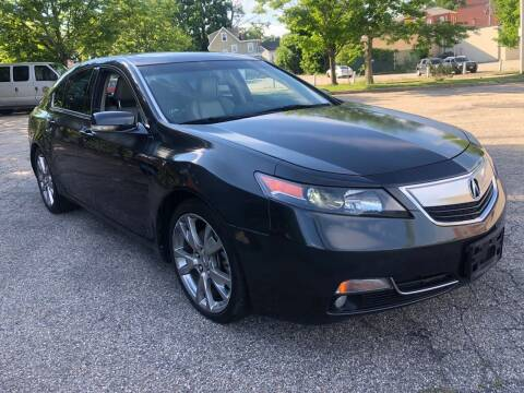 2012 Acura TL for sale at Welcome Motors LLC in Haverhill MA