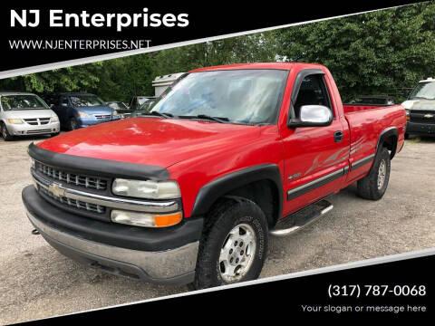 2000 Chevrolet Silverado 1500 for sale at NJ Enterprises in Indianapolis IN